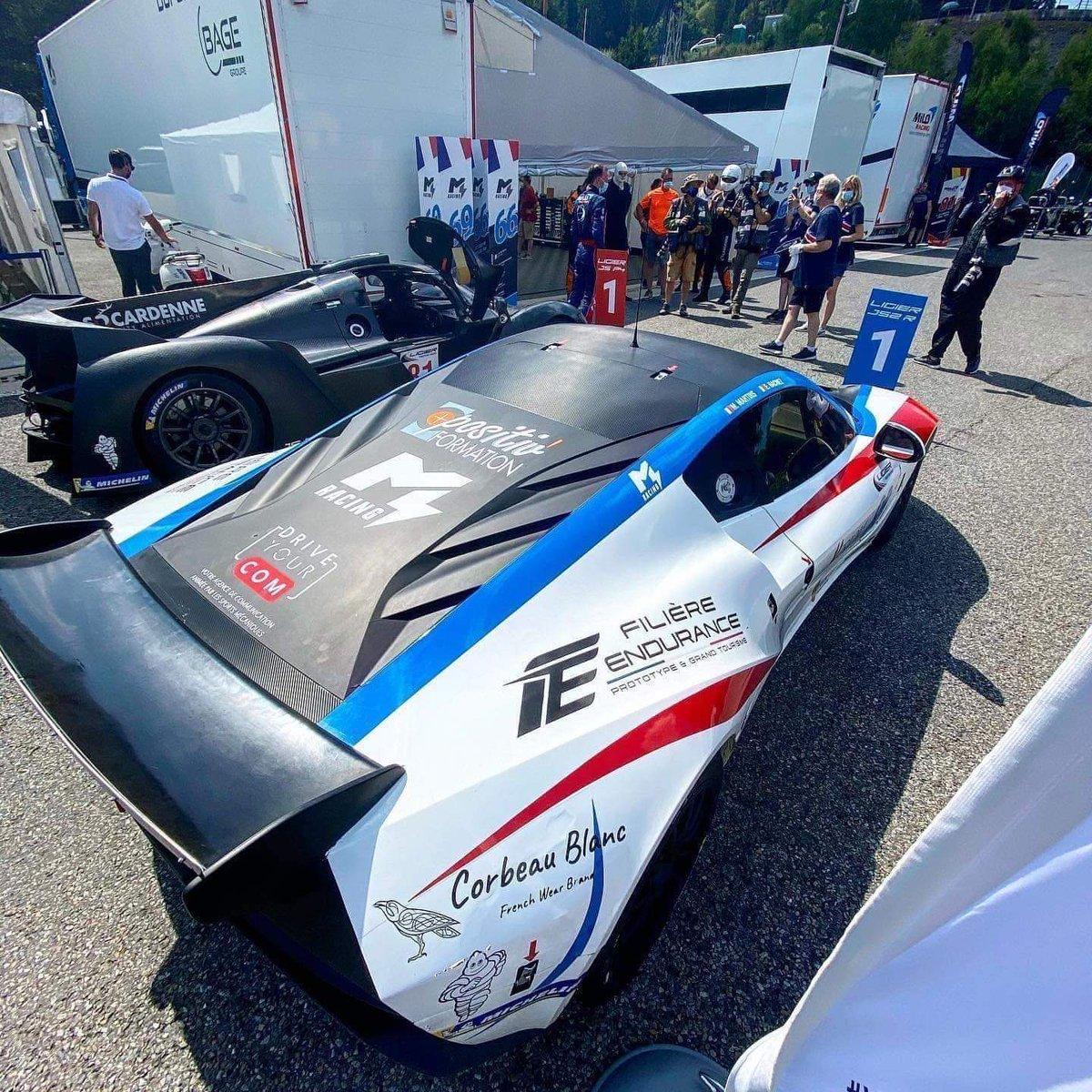 """Mathieu Martins, victorieux à Spa le week end dernier en catégorie JS2 R de la Ligier European Series """"C'était vraiment une super course, avec de belles batailles en piste. C'est un grand jour avec la première victoire de la saison""""  Prochain rdv, les 28-29 août au Castellet https://t.co/WNK4gsZVIC"""
