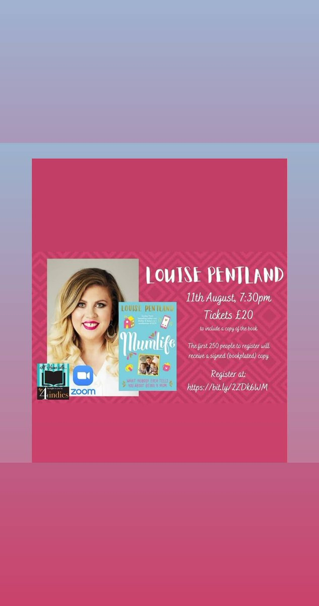 TONIGHT folks @LouisePentland inconversation @KatiePiper_ join us https://t.co/sglLHZgDDy