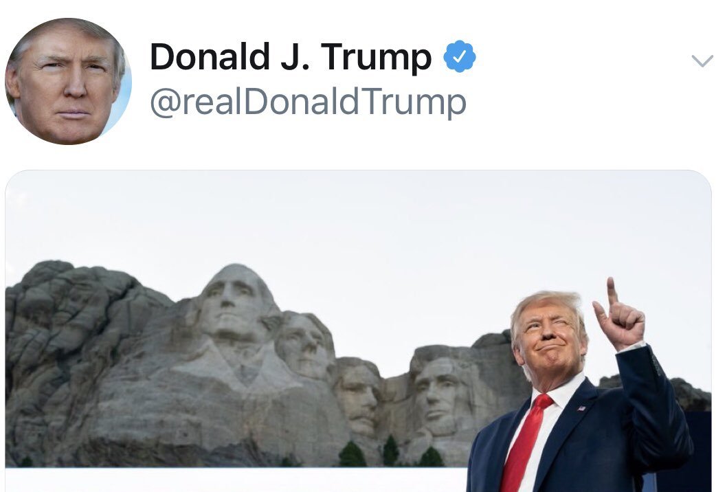Donald was a mystery, He wasn't good at history, He believed that Spanish Flu, Could have ended World War 2.  Also that the dinosaurs, Finished the Korean War, And even that a clueless cock, Should have his features carved in rock! https://t.co/UQNRQsWHCA