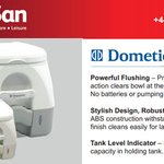 Image for the Tweet beginning: Dometic 972 Portable Toilets are