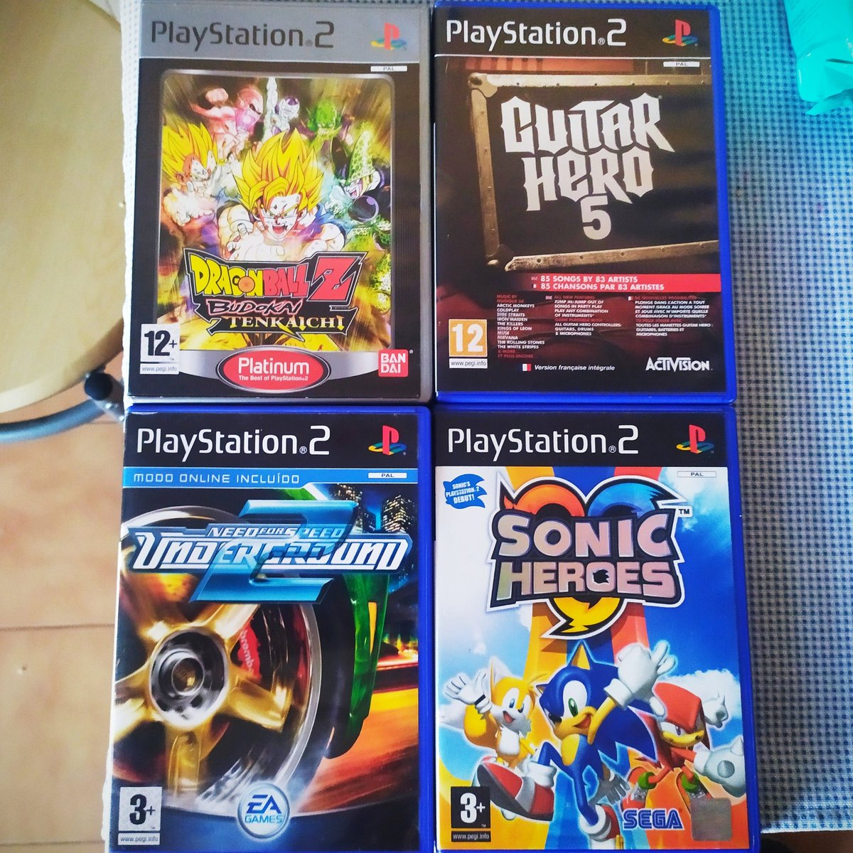 Another handful of #ps2 games really cheap! #playstation #dragonballz #sonicheroes #nfsunderground2 #needforspeed #guitarhero #gaming #uyapic.twitter.com/yOMi9jf75m