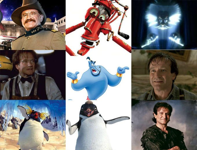6 years ago we lost this beautiful soul #disney #RobinWilliams #actor pic.twitter.com/H5RTEVIwsJ