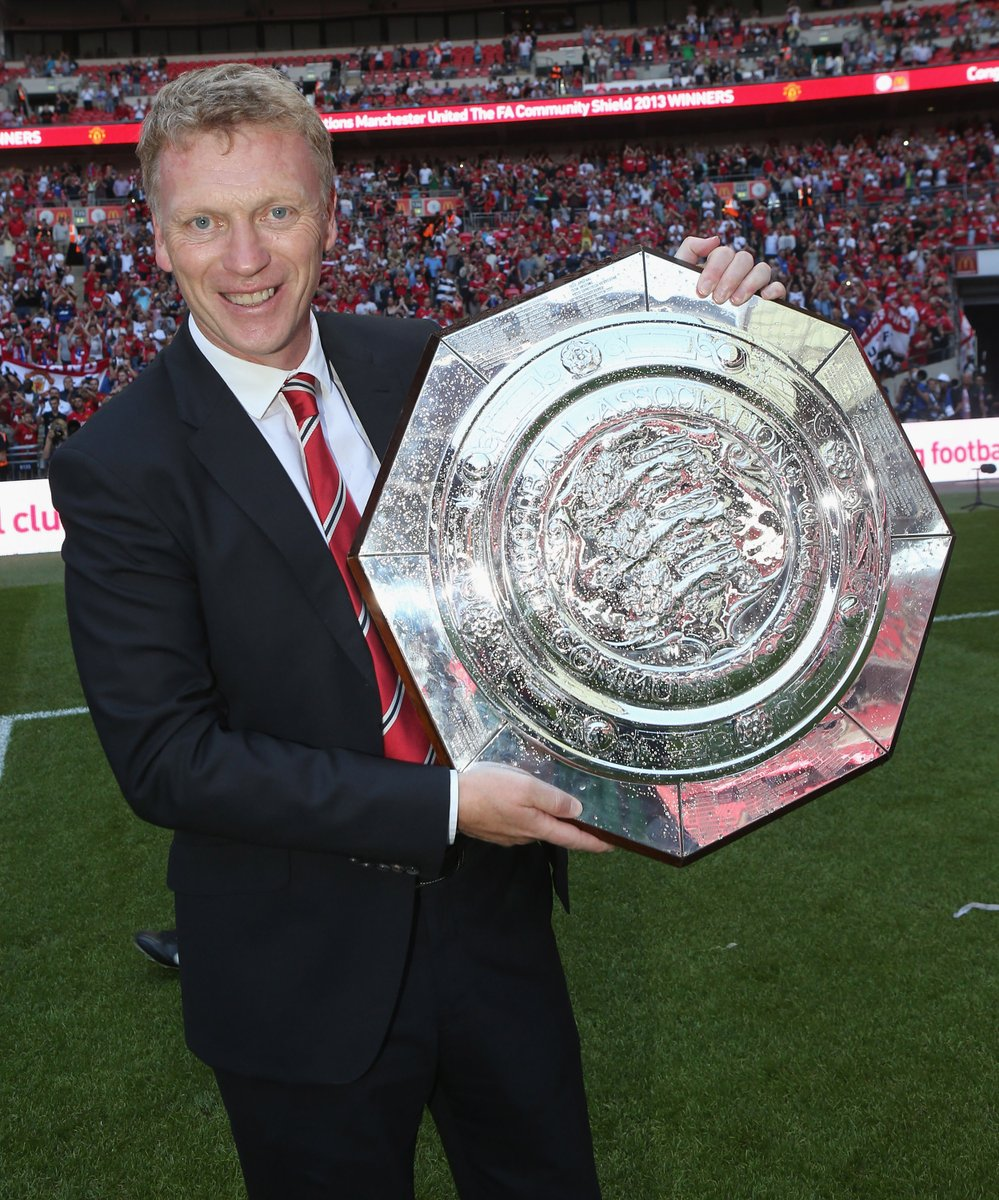📅 7 Years Ago Today: 🏆 David Moyes won his 1st and only trophy with @ManUtd... ✅ ...beating @LaticsOfficial 2-0 in the Community Shield.