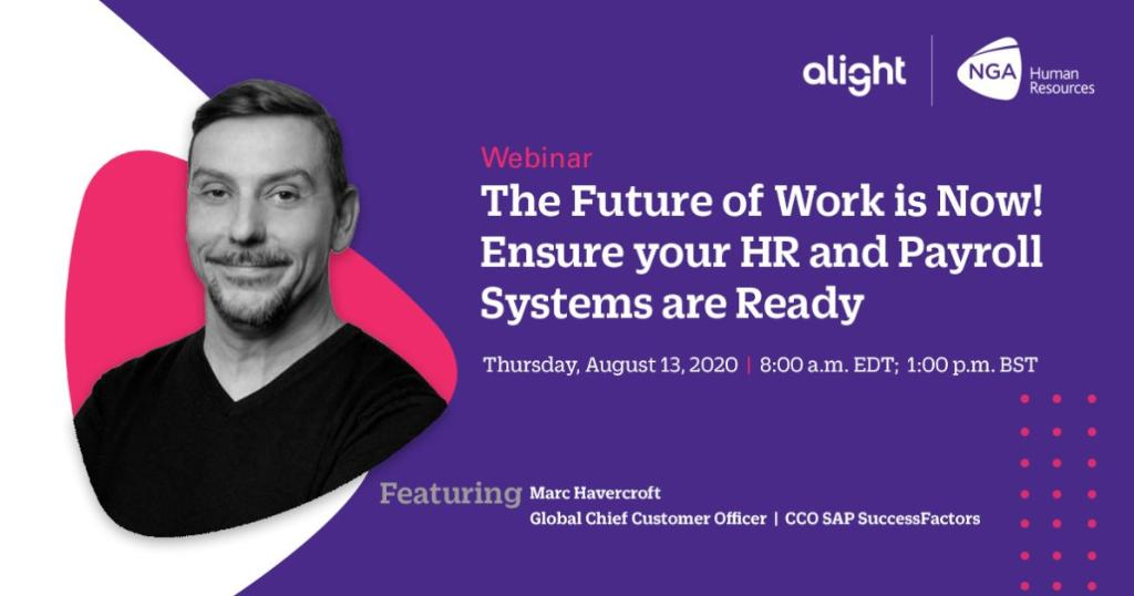 Now is high-time to reinvent your organisation for the future. Do you think your #HR and payroll systems are ready?  Find out in this webinar: https://t.co/73mcKQLXNF https://t.co/Wp4ePDZyTX