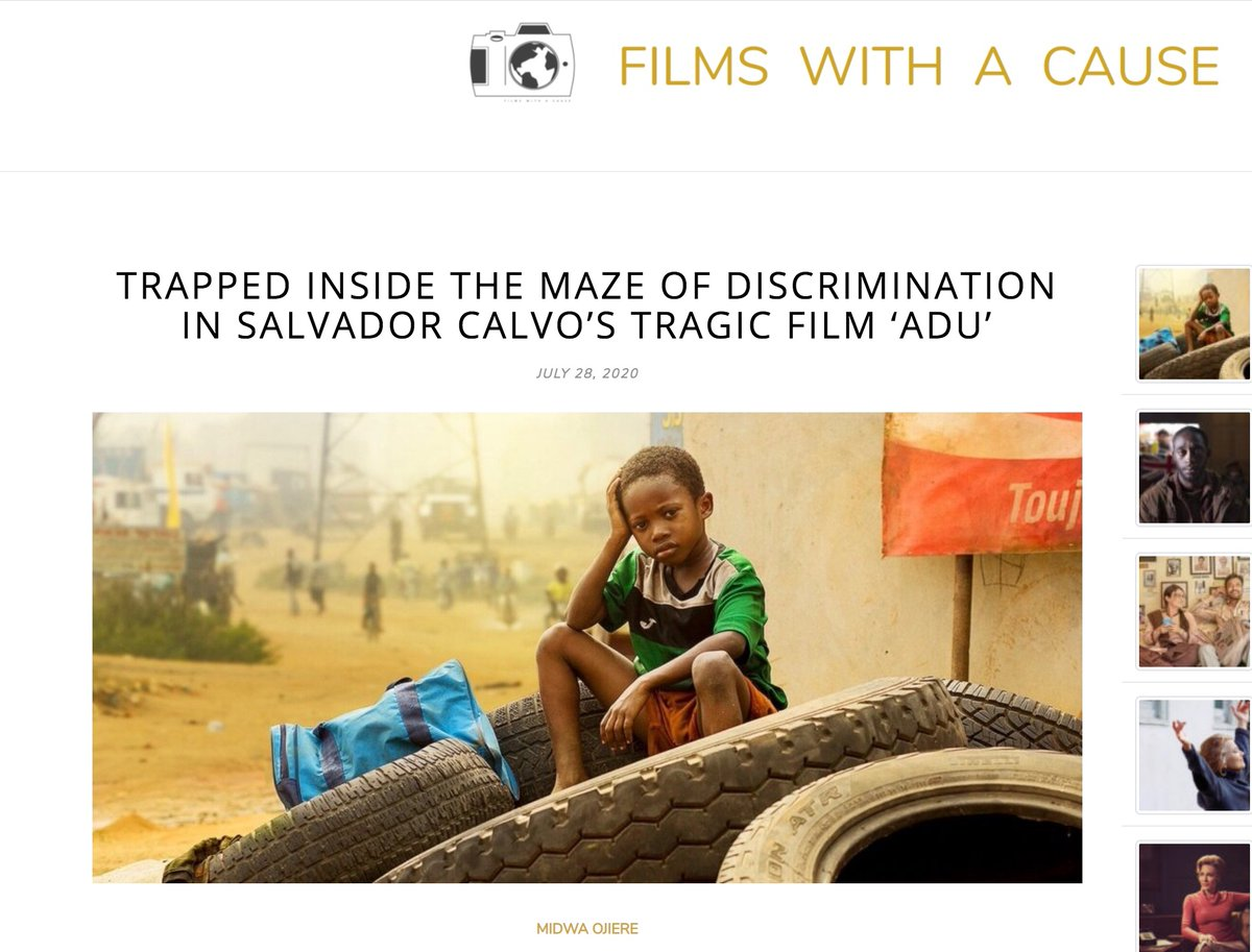 I recently wrote a piece about my experience watching the film #Adú directed by Salvador Calvo. Glad to have my reflections published: http://filmswithacause.org/maze-of-discrimination-in-adu/… @FilmsWithACause  #FilmReview #Netflixpic.twitter.com/cSL2cANZ7s