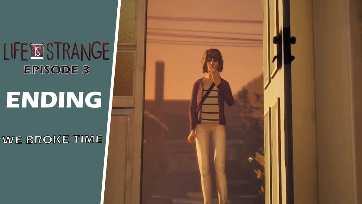 Surely, we broke time? Here is the #Finale of #Episode3 of #LifeIsStrange! Now #live on my #YouTube #Gaming #Channel!  Don't forget to leave a #like and #subscribe while over there! Much love! #SmallYouTuberArmy #smallyoutubercommunity   >> Video: https://t.co/HQCTfMsCKm https://t.co/lByVrqVFGo