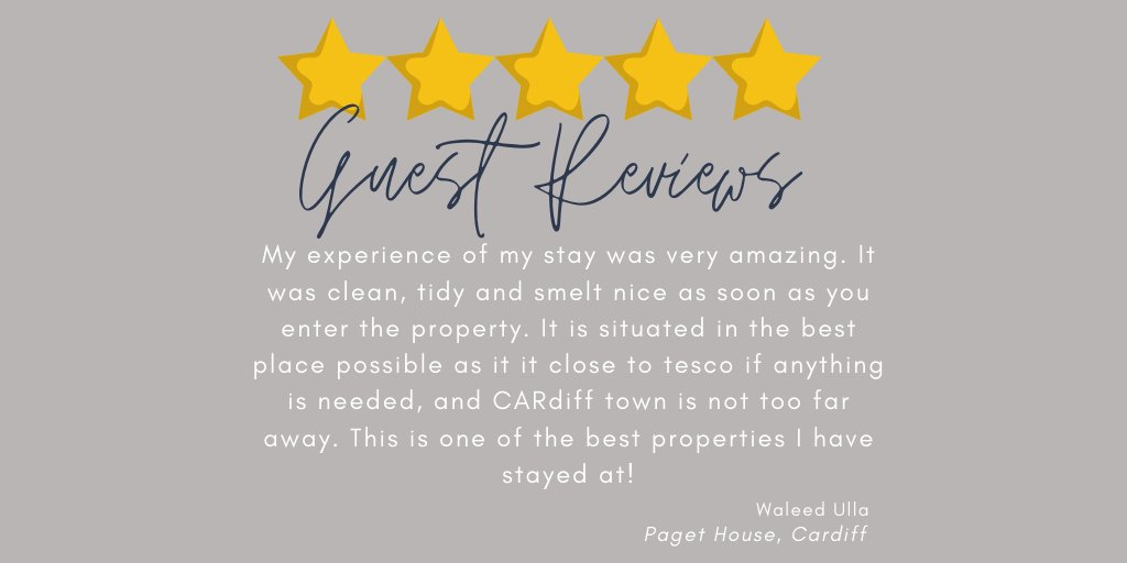 Heart melting review and feedback from our valued guest that stayed in Paget House. Paget House is an exceptional 4 bedroom fully furnished house, suitable for up to 7 guests.   #influencer #customerfeedback #blogger  #testimonials #happycustomers #customerreview #customerpic.twitter.com/q4UKciXLhP