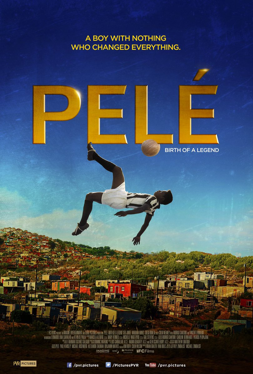 #PeleBirthOfaLegend-A Brilliant Inspiring Movie based on the real life Legend ~Edson Arantes do Nascimento(Pele)  Movie consist of brilliant Content,Story,Direction,Casting,Music &'eye'ttracting Cinematography that captured the real beauty of #Brazil & Football..  #FilmReview pic.twitter.com/FSN8SUiEbG