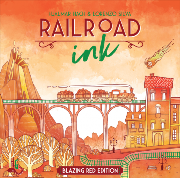 Arguably the best roll & write puzzle game, Railroad Ink is NOW back in stock ! #CMONGames #boardgame #shoplocal https://buff.ly/3isFC7mpic.twitter.com/FvRo4qXs1K