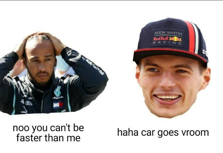 🤭🤭  #MaxVerstappen #LewisHamilton #F1 #BritishGP #MightyMax https://t.co/icyx78GAb1