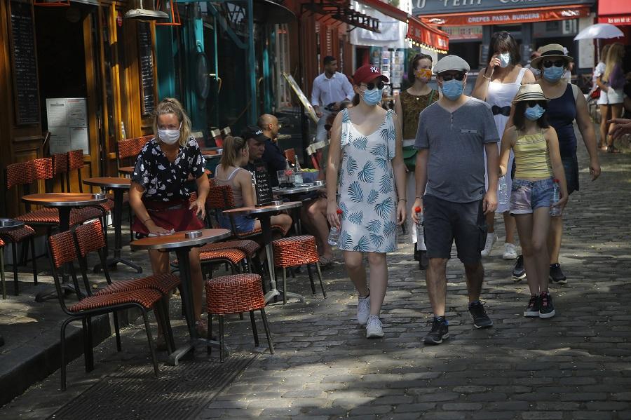 #Mascarillas París obliga a usar cubrebocas, incluso en zonas abiertas https://t.co/lXsgMewKcp https://t.co/5Jdfr3iVs2