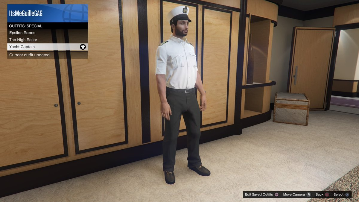 Gta News On Twitter Here S The Yacht Captain Outfit That Can Be Unlocked By Completing All Super Yacht Missions Gtaonline