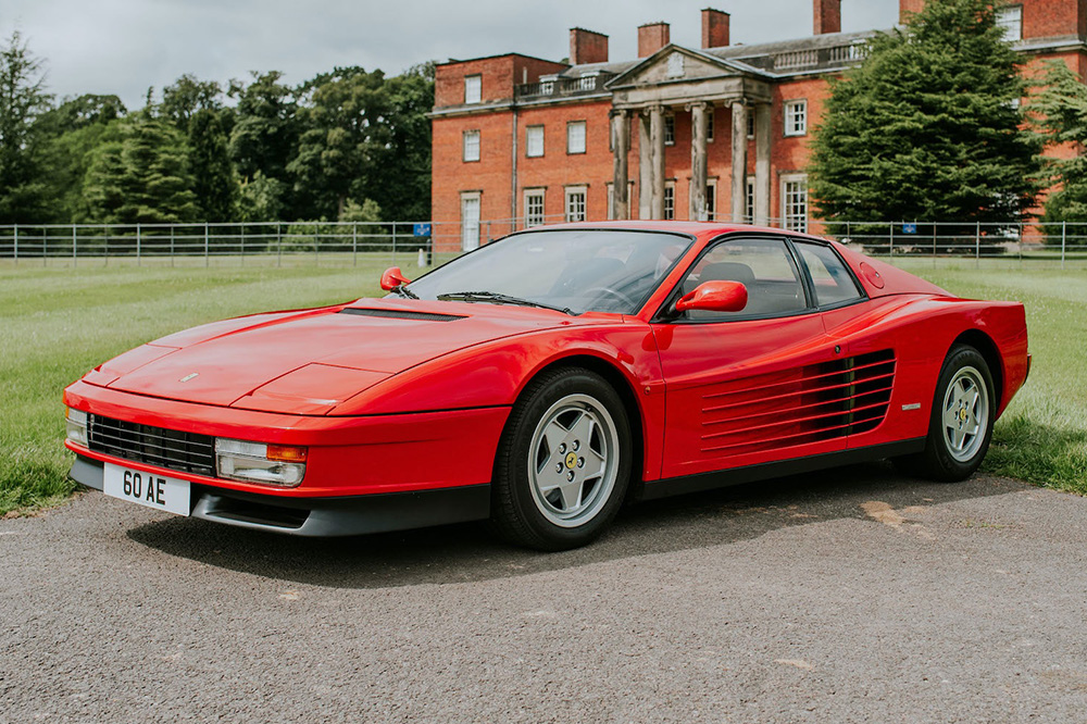 Collecting Cars Auf Twitter Ends Tonight This Ferrari Testarossa Is A Highly Original Example Of One Of The Most Familiar 1980s Poster Cars Of Them All A Wonderful Analogue Supercar With Just