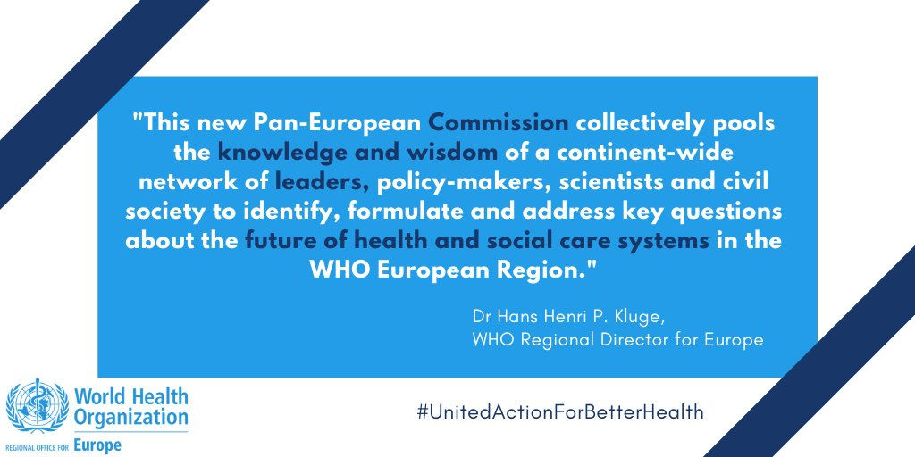 Announcing Pan-European Commission on Health & Sustainable Development ✅On the future of European health & social systems ✅Comprising leaders, policy-makers, scientists & civil society ✅Chair @SenatoreMonti, scientific coordinator @MOSSIALOS ➡️bit.ly/3iveXH8