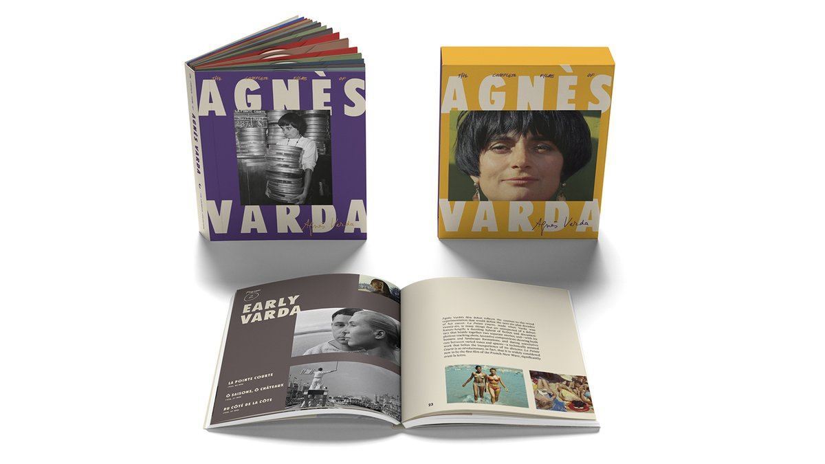 THE COMPLETE FILMS OF AGNÈS VARDA has arrived! 💚💜💛 criterion.com/boxsets/3432-t…