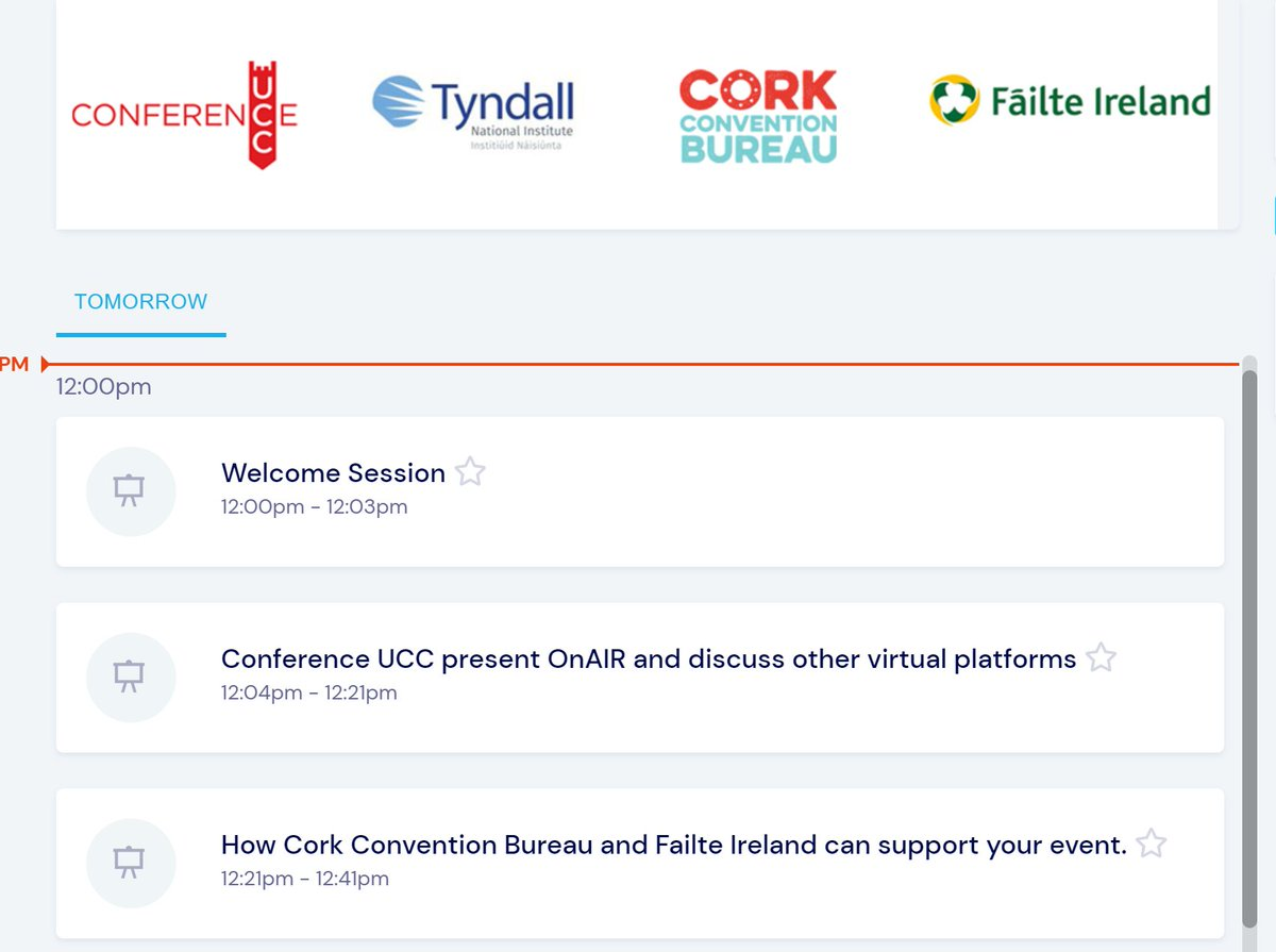 Our 1st virtual information session with our partners @TyndallInstitut @ConferenceUCC @Failte_Ireland is taking place tomorrow. Suitable for any @TyndallInstitut staff interested in hearing about conference planning and bid supports https://t.co/nkEvgQ66uV https://t.co/7wppmJGJLJ