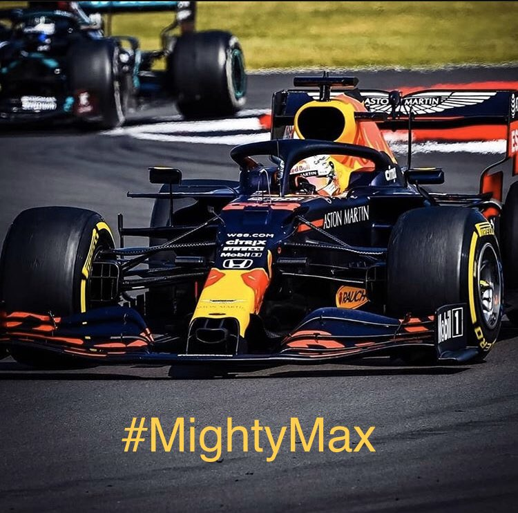 #MightyMax 👊🏻🏆  #MaxVerstappen #F1 #BritishGP #MightyMax https://t.co/RMG9x0XwkB