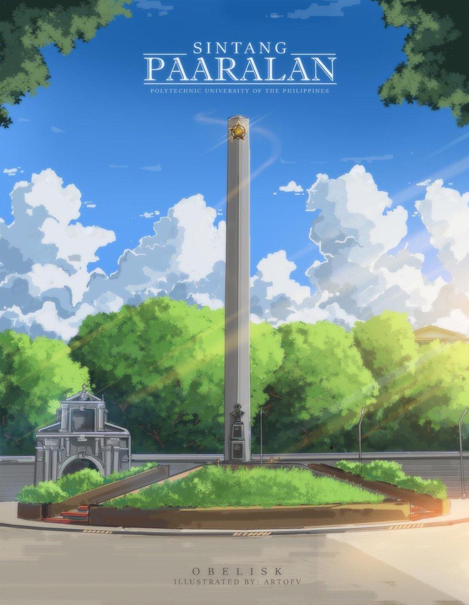 Obelisk, PUP ni Vince De Leon  Anime background art https://www.artstation.com/artwork/lxGa6V https://www.facebook.com/artofvincentxx  Mahusay.pic.twitter.com/1BqDbNohse