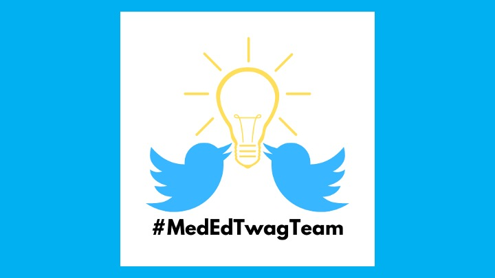 14/ And, if you haven't already, go follow our team handle: @MedEdTwagTeam The one-stop shop for all your #MedEdTwagTeam needs! Follow! Like! ReTweet! ¡Hasta la proxima #TweetorialTuesday!