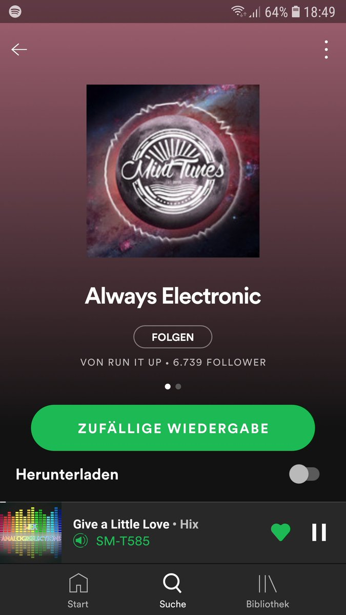 Awesome! @HIXsounds  made it to the Aways Electronic Playlist on Spotify! 👌  #ISRH https://t.co/PPbeRIRuIq