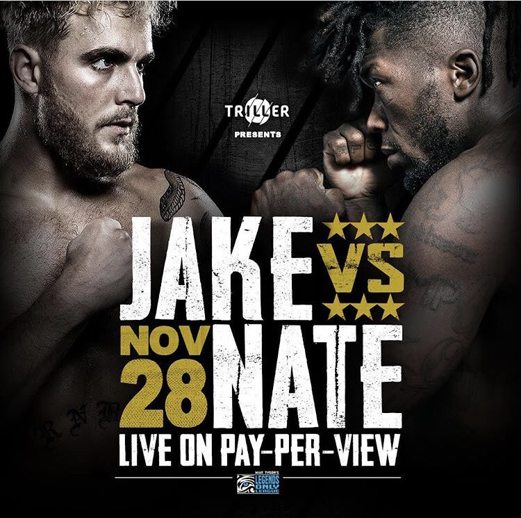 Watch Jake vs Nate PPV 11/28/19 Live Full Show Online