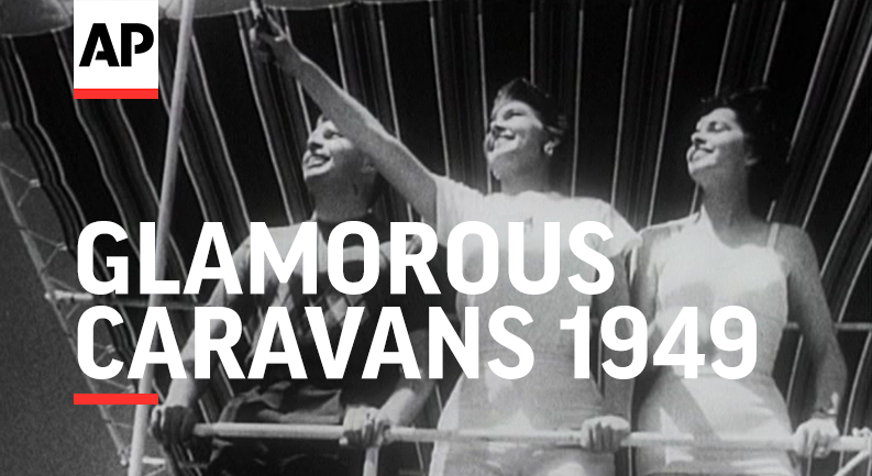 This week's #ArchivistPresents clip features glamorous caravans in 1949. apne.ws/YB7hAz9