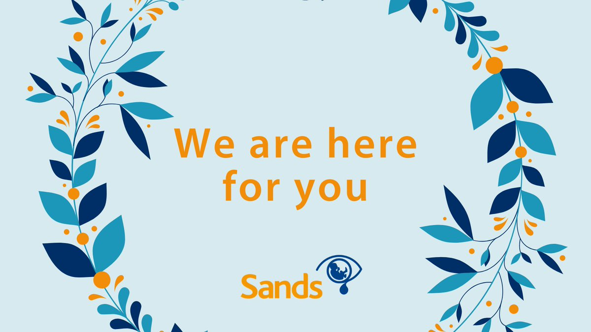Grief can feel overwhelming when the world is turned upside down. We are here for you in these difficult times 💙🧡  Find out how to get the support you need by phone and online   ➡️ https://t.co/J44SX58WUa  #SandsHereToSupport #TogetherForSands #babyloss #grief https://t.co/N1Di79FF42