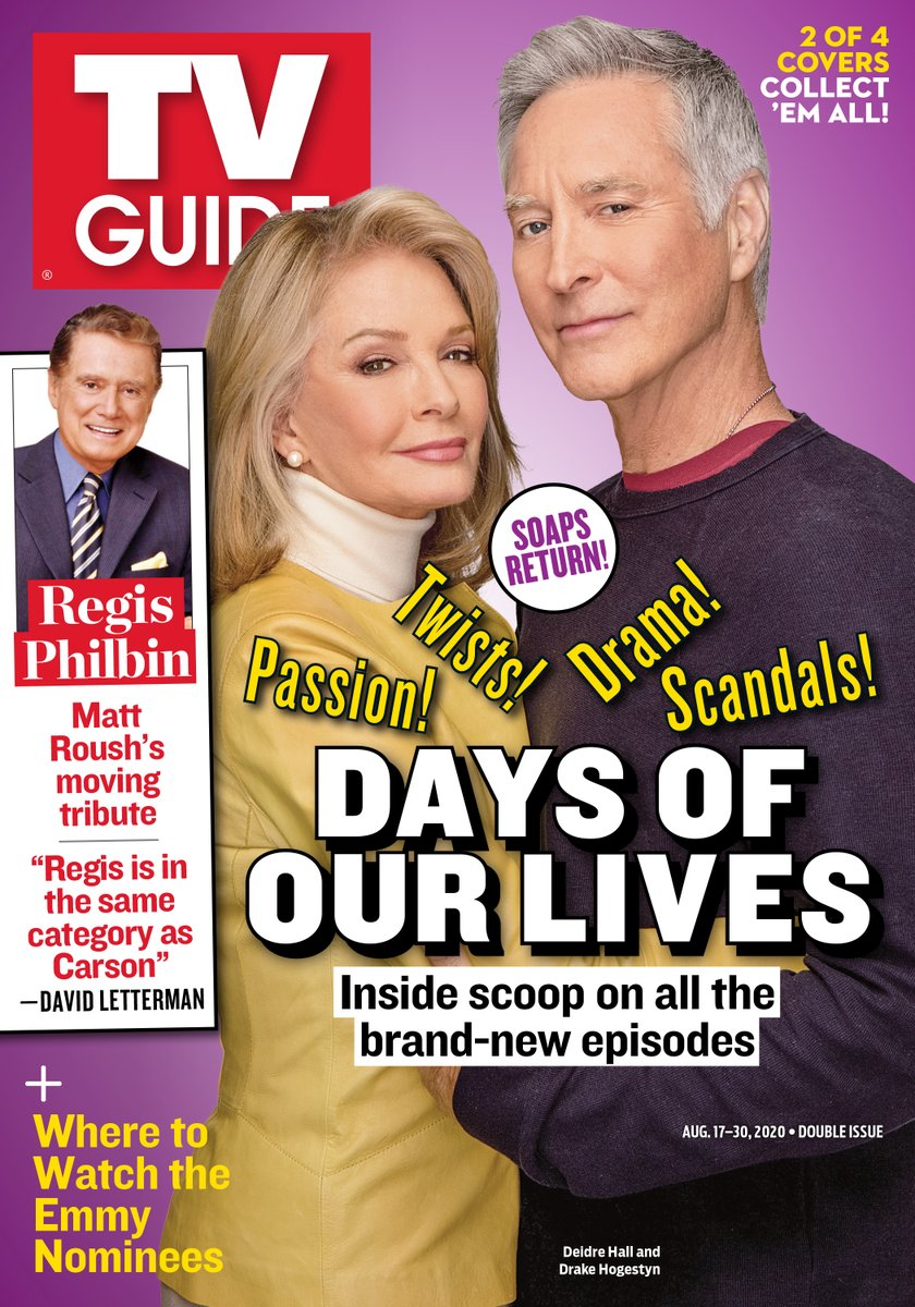 We love a cover story! 👏 Check out @nbcdays & @YandR_CBS on the cover of @TVGuideMagazine!