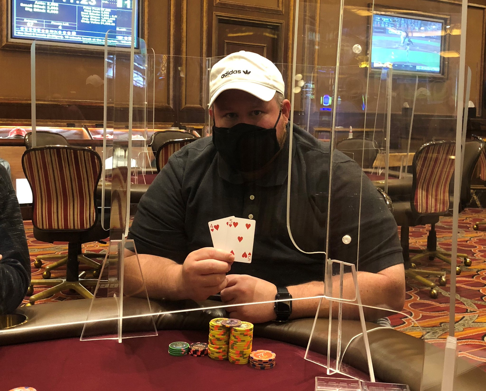 Venetian Poker Room On Twitter 332 000 Bad Beat Jackpot Venetianpoker Congratulations To Adam Lister Who With The 4 5 Hearts Lost To The 9 10 Hearts Of Yusuke Sawauchi On A Board Of 6 7 8