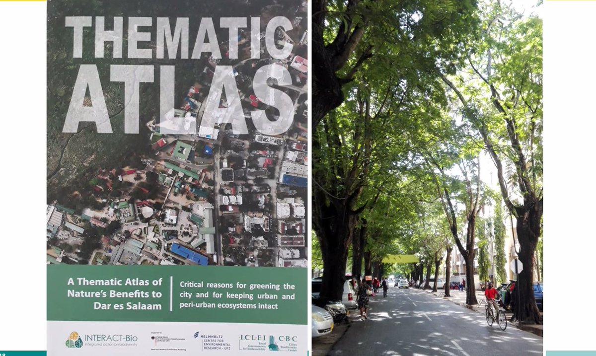 Great work of the #INTERACTBio Team from @ICLEI. You want to know more about the project? Then you can find extensive information about the work in the project cities here ➡ https://t.co/p6eCT1LZ3B #sustainablecities #urbandevelopment