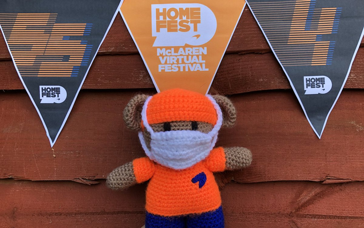 Bruce the #HeroBear really enjoyed his time at #McLarenHomeFest this weekend during #F170 #BritishGP! https://t.co/AiN0wg8T7g https://t.co/vRCSjZ4dGU