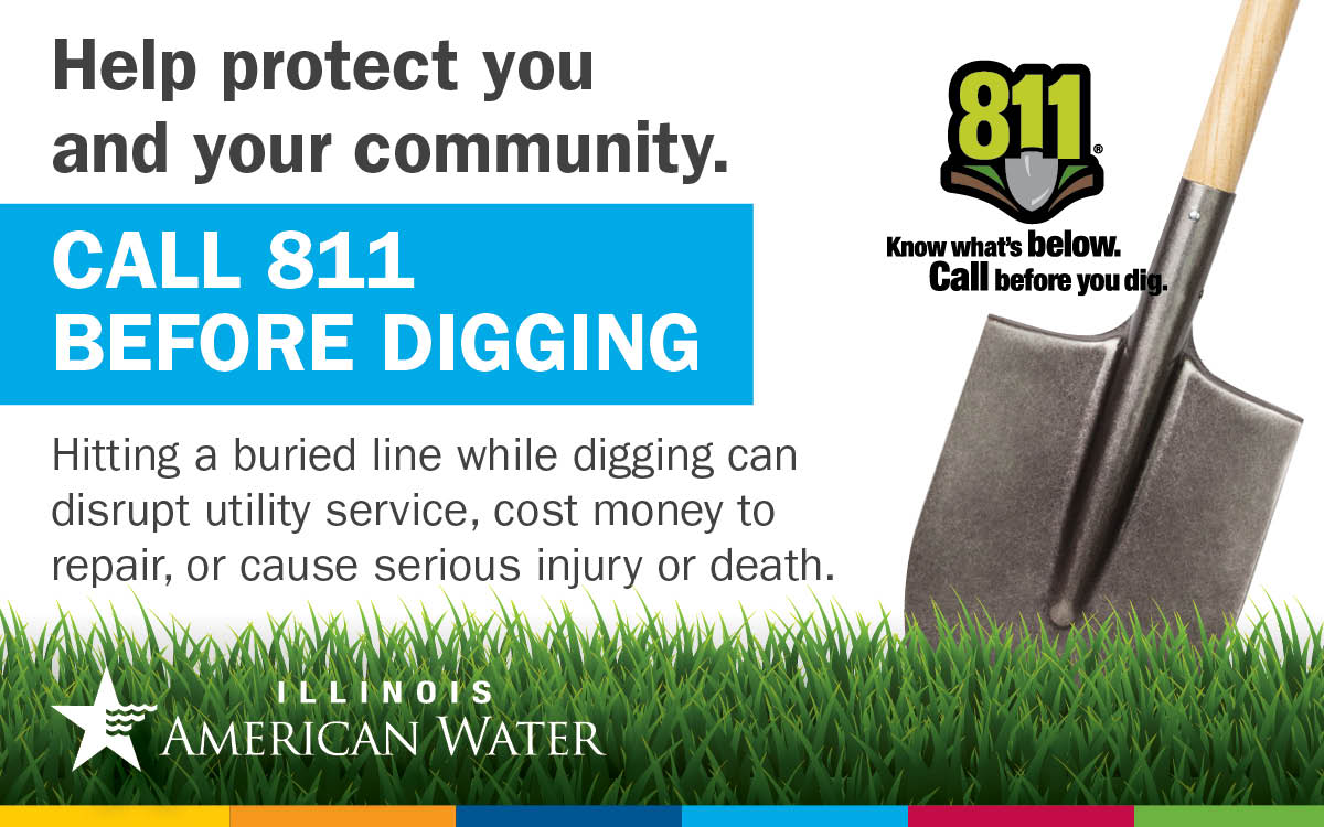 Il American Water On Twitter Today Is 811 Day An Underground Utility Is Damaged Every Few Minutes Because Someone Didn T Make The Call To Julie1call Make Sure You Call 8 1 1 Every Time You can now enter your own locate request for excavation at a single address if you have a valid email. twitter