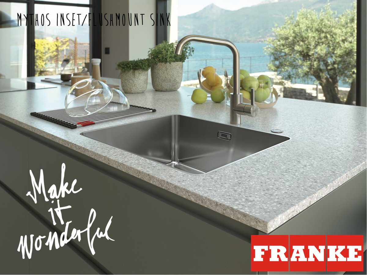 Franke Uk Ltd On Twitter The New Precision Crafted Mythos Sink Range Takes Streamlined Design To A Whole New Level Sleek Hygienic Easy To Clean The Range Works With All Worksurface
