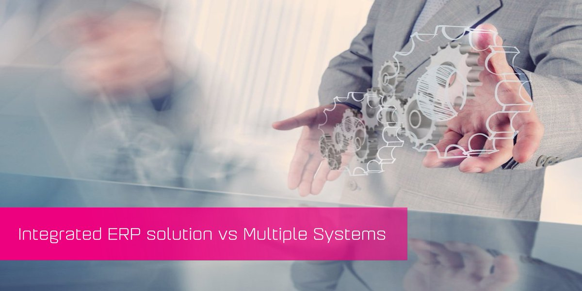 The question remains, are integrated ERP solutions a better option than the alternative of  multiple systems? Read our blog: https://bit.ly/2PJ5saM  #KerridgeCSSA #IntegK8tedERP #Software pic.twitter.com/MPyzCUMgpy
