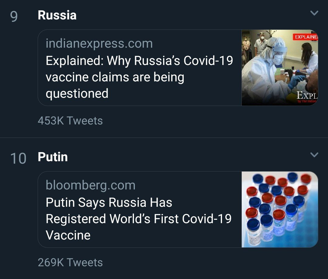 Weird feeling to be in #moscow #russia and see these trending in Nigeria #putin pic.twitter.com/3Jdtb3SNuq