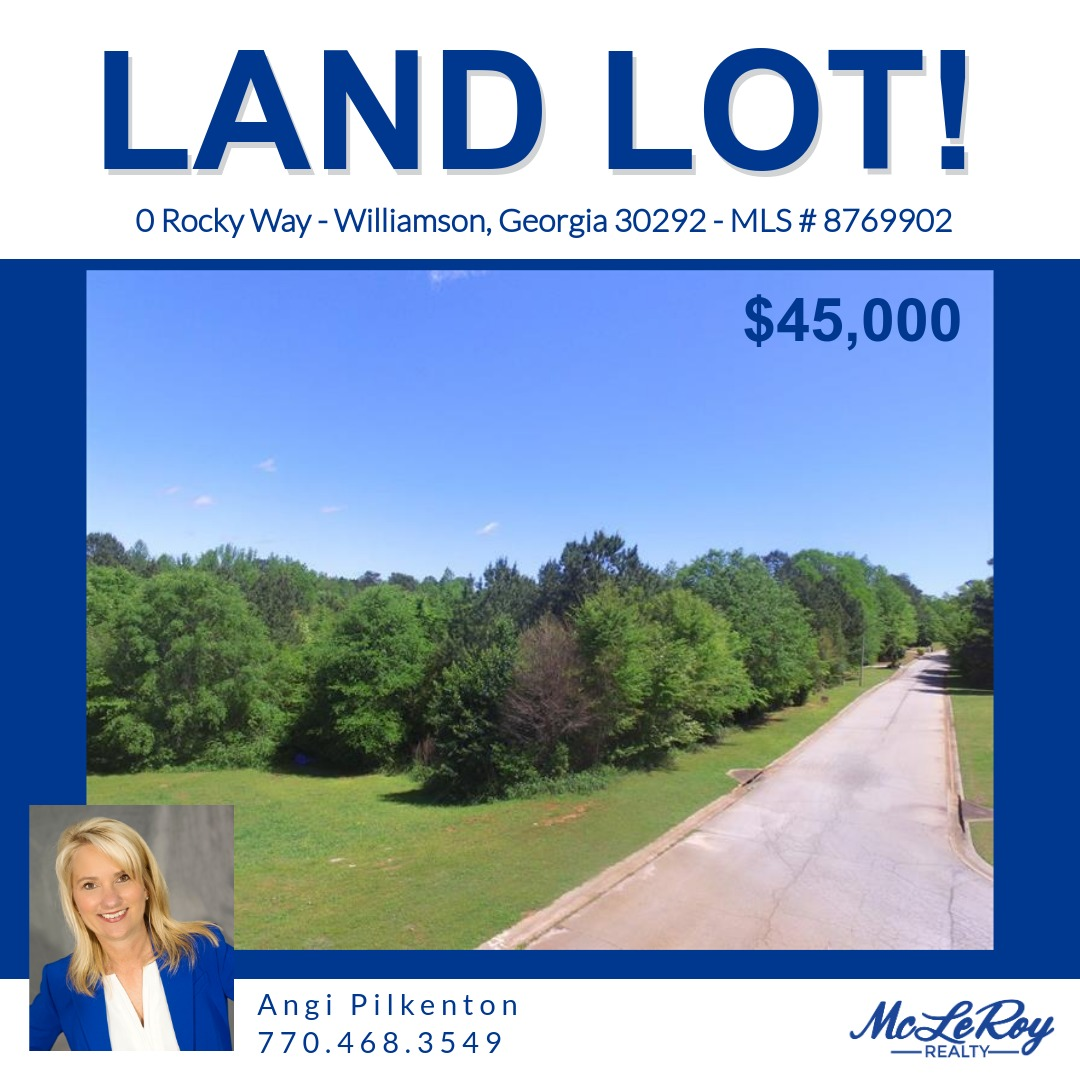 🔥 HOT LISTING: Located in prestigious Rocky Creek in Williamson, this lot is 3+ acres with a gentle slope to allow for a basement. 🏡 Jump on this one because lots rarely pop up for sale in this neighborhood. Call Angi today! ⌛ #buildinglot #rockycreek #williamson #realestate https://t.co/e1JTAPU5q8