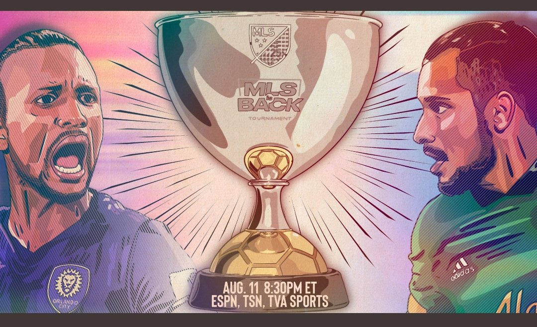 📌Tonight ⏰20:30 🇺🇸🇨🇦 1:30 🇵🇹 🇵🇹 Nani, Joao Moutinho 🏆#MLSisBack Final ⚽️Orlando City SC x Portland