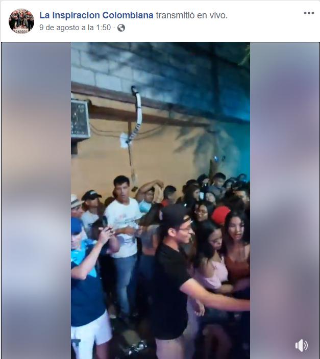 Arman baile masivo en Monterrey y grupo justifica sus acciones