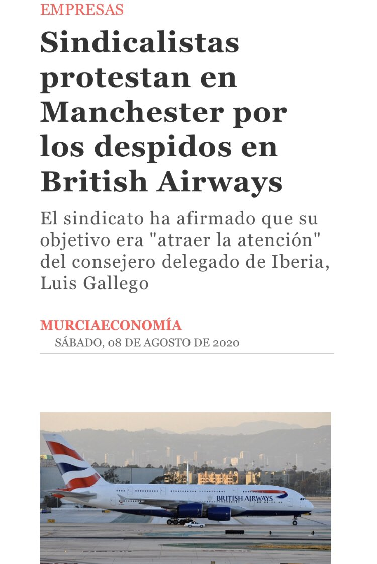 British Airways's parent company IAG is headquartered in Spain so that's where we've taken our #BABetrayal campaign!  We #StandWithBAWorkers and won't stop fighting for our members #babackinthehold #bastopredundancies #bastopthinkagain #fireandrehire https://t.co/MSF1Jv2c9E