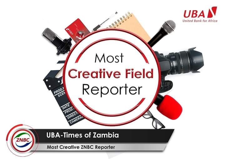 Stand a chance to WIN UBA branded collateral, by voting for your favourite  UBA-Times of Zambia TV Review; Most Creative Field Reporter (Male and Female).  To vote, type the names of the two reporters  of your choice and send them via SMS to 0977987332, voting ends 30th of August https://t.co/m818qGCFsg