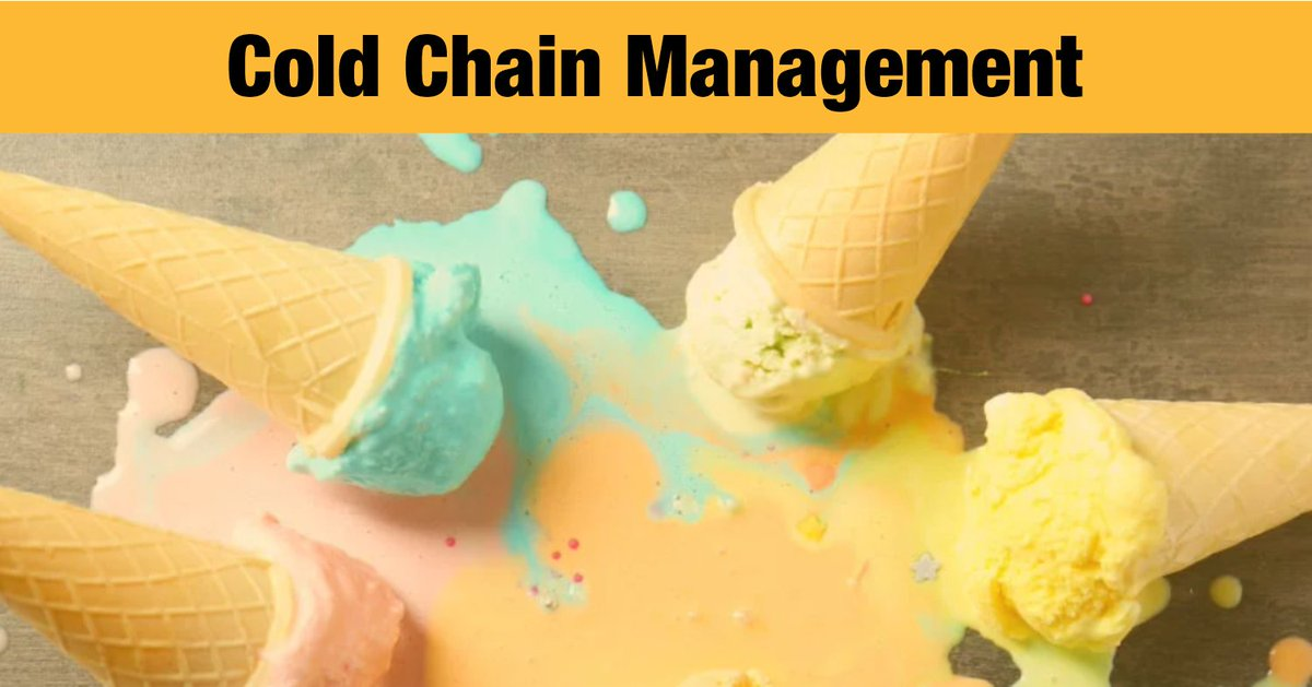 10 Potential Risks in Cold Chain Management https://bit.ly/3izDpHn  #coldchain #temperaturecontrol #supplychainmanagement #foodchain #dataloggers #fnb #beverages pic.twitter.com/yQIeUF1iAN