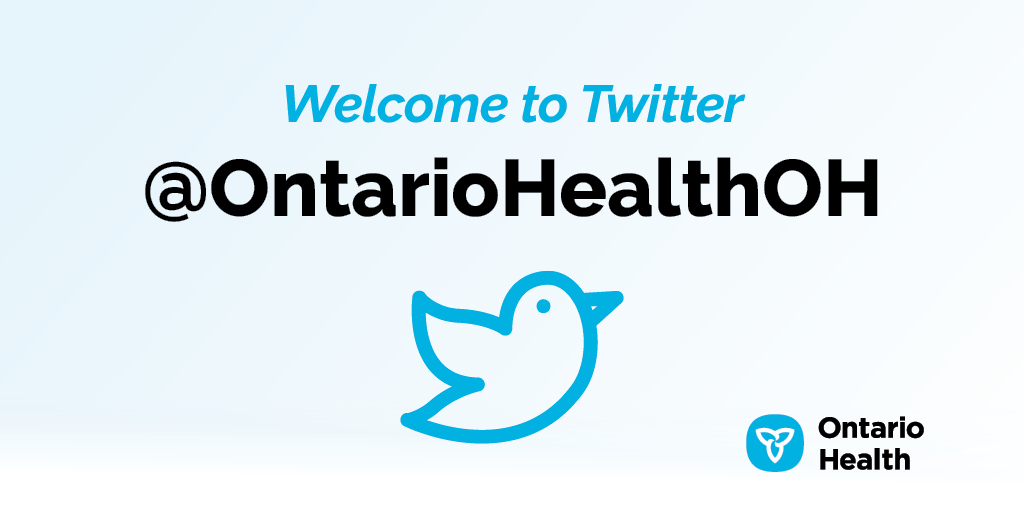 We wanted to let you know that #OntarioHealth is now on Twitter. Interested in information and exchanges about supporting the system in the delivery of high-quality health care services?  Follow them at @OntarioHealthOH.