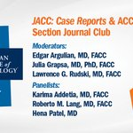 Image for the Tweet beginning: Join #ACCImaging & #JACCCaseReports for