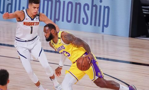 #HEATTwitter 114 #IndianaStyle 92 (MIA) Jimmy: 19 PTS, 11 REB (IND) Oladipo: 14 PTS   #LakeShow 124 #MileHighBasketball 121 (LAL) LeBron: 29 PTS, 12 AST  (DEN) Dozier: 18 PTS https://t.co/wE4vEz7Yxn