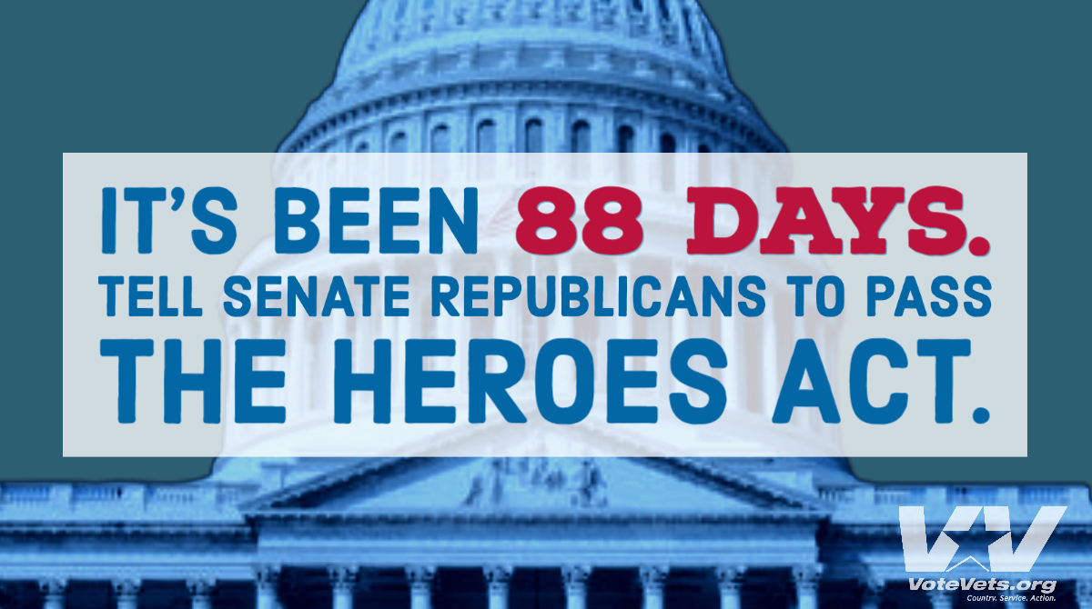 ☎️📱Let your voices be heard: 202-224-3121 #HEROESAct