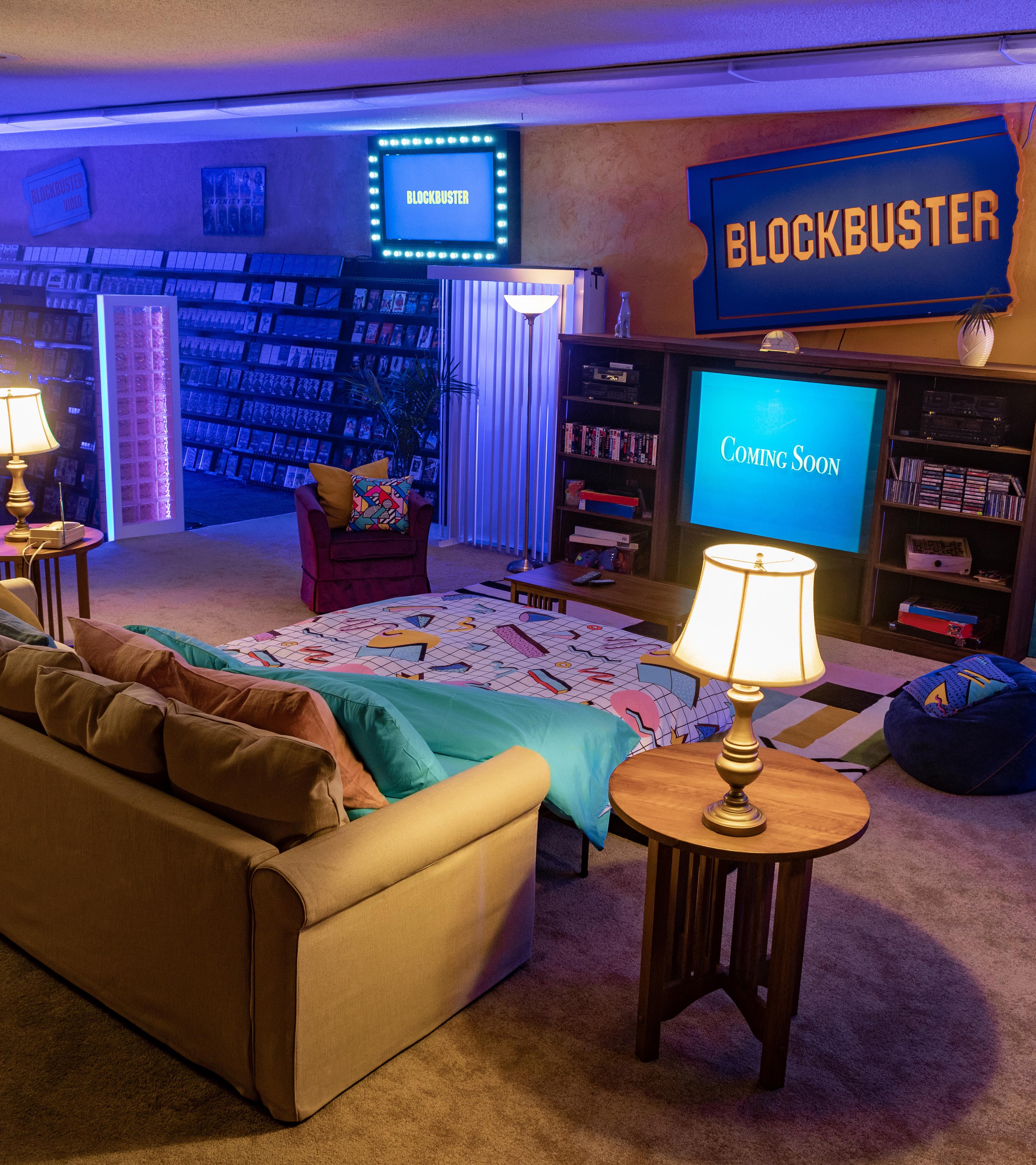 Blockbuster en Oregón ahora es Airbnb para septiembre comenzará a operar de ese modo