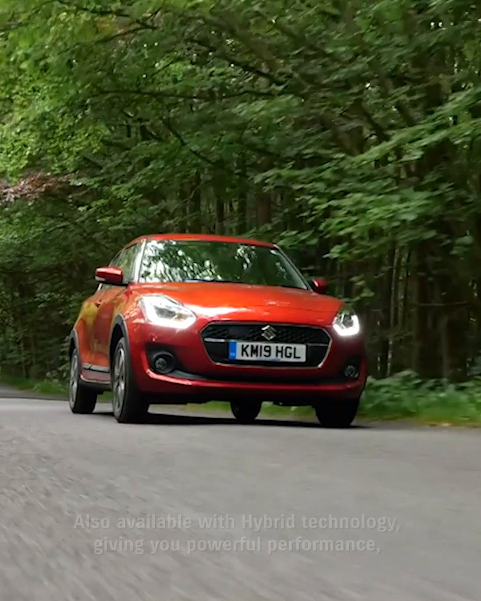 Designed to stand out. Our dynamic, agile and economical compact hatch with Hybrid technology. Discover more about the Hybrid Swift: https://t.co/VXAWG3Oemg https://t.co/3EbDEMsoPN
