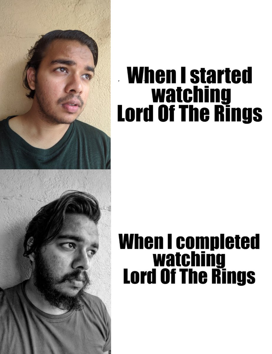 Phew ! Finally finished it .  #LordOfTheRings #movies #memepic.twitter.com/eRlTBTTfWw