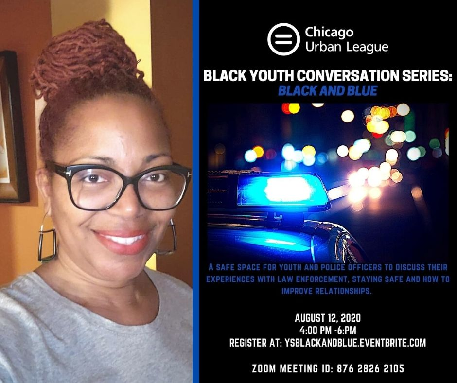 Join us TOMORROW for a convo between our students and various police officers as they speak about experiences and exchange dialogue about ways to improve relationships between police and youth. One of the officers will be Officer Faith Reeves!  Register at http://ysblackandblue.eventbrite.compic.twitter.com/r3M32swBla