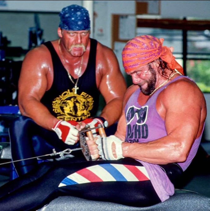 Happy birthday shout out to one half of the mega powers and some of the inspiration of the hulk hogan